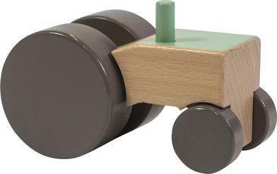 Houten Tractor - Groen - beukenhout - Sebra